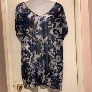 Beautiful floral swimsuit cover up
